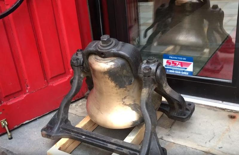 In the basement of Trinity Cathedral in downtown Pittsburgh, an old bell was discovered, right as officials were preparing to dedicate 10 recently renovated bells. This 11th bell is smaller, and its origins are a mystery.