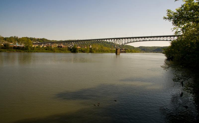 The Homestead Grays Bridge over the Monongahela River.