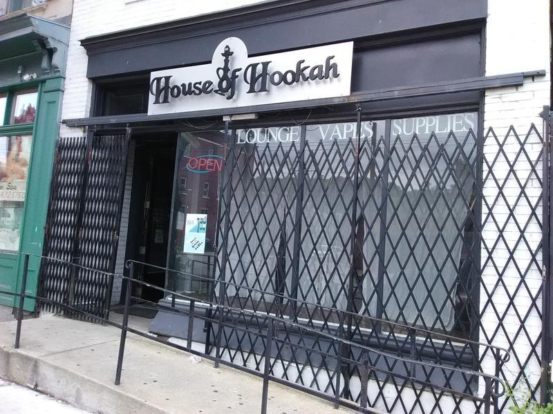 Hookah bar on Pittsbrugh's East Carson Street.