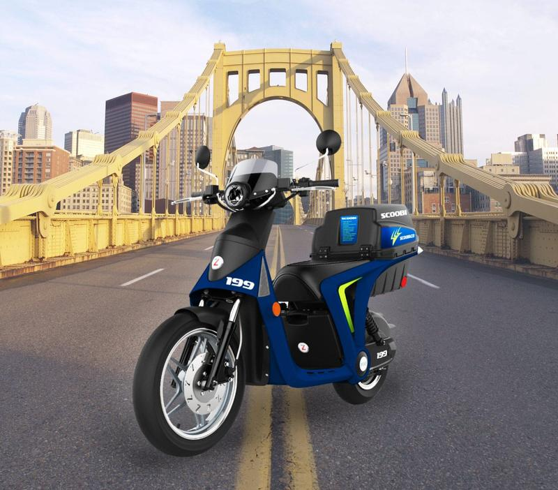 Scooter rideshare company Scoobi intends to release 100 on-demand vehicles in mid-June.