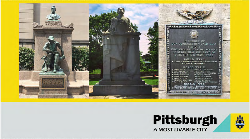 The city's war monument and memorial inventory will assist officials and residents in enjoying and preserving Pittsburgh's public art.