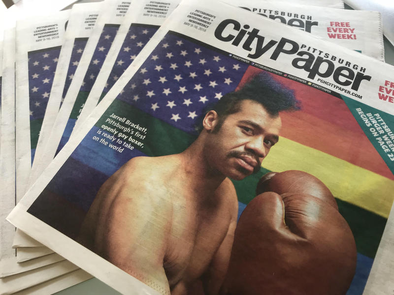 The alternative weekly Pittsburgh City Paper fired its editor Tuesday. Company officials also announced Tribune-Review columnist Rob Rossi would fill the position.