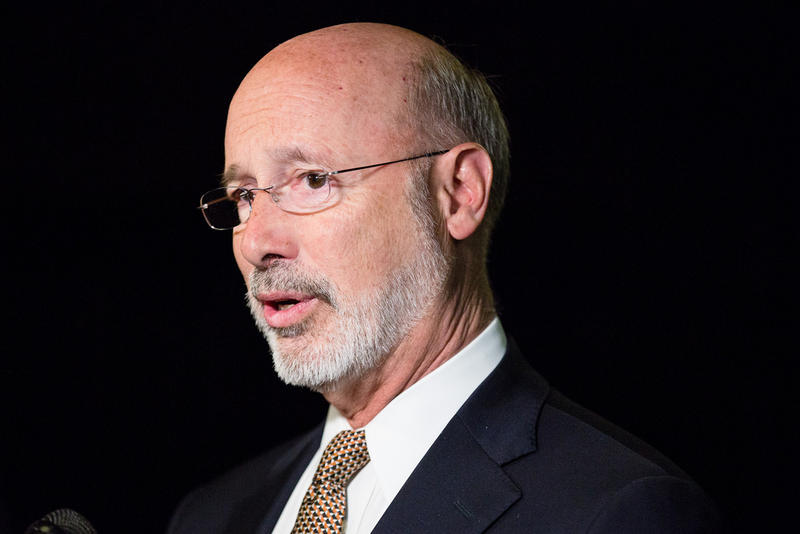Governor Tom Wolf at a workforce development event in Pittsburgh on Thursday, May 24, 2018.