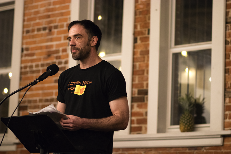 "Ben Gwin's debut novel is titled ""Clean Time."""