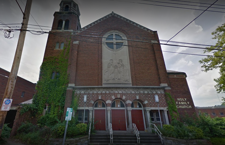 Holy Family Church in Lawrenceville.