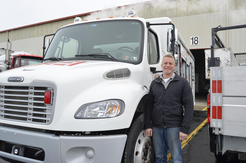 Mike Chicka is a field supervisor for McCutcheon Enterprises