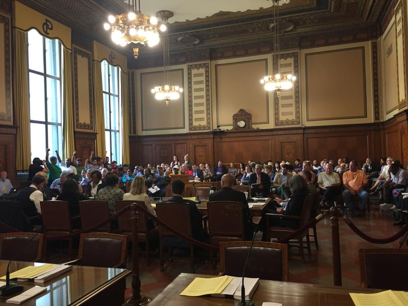 Pittsburgh City Council voted 7-2 to approve UPMC's expansion of its Mercy campus in Uptown.