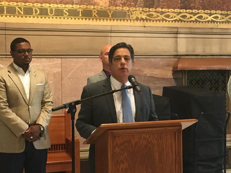 Pennsylvania state Sen. Jay Costa (D - Forest Hills) called on Republican gubernatorial candidate Scott Wagner (R - York) to release his tax returns Tues., July 24, 2018.