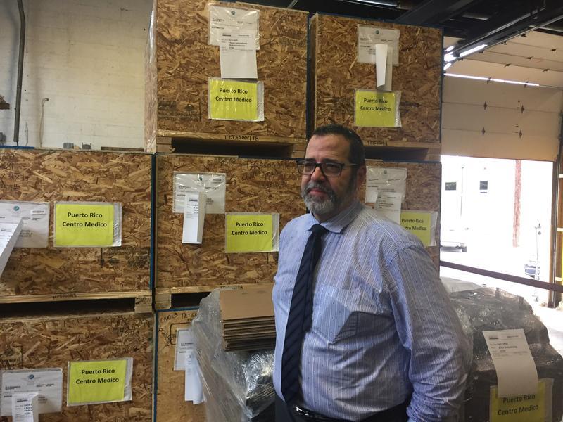 Raul Rodriguez, president of Puerto Rico distributing company Luis Garraton LLC.