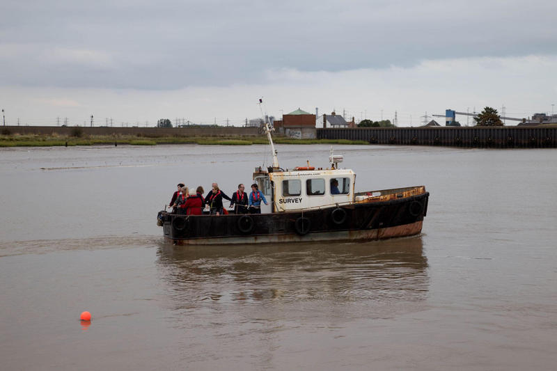 """A previous version of """"Waterborne"""" took place on the Thames Estuary, in London, England."""