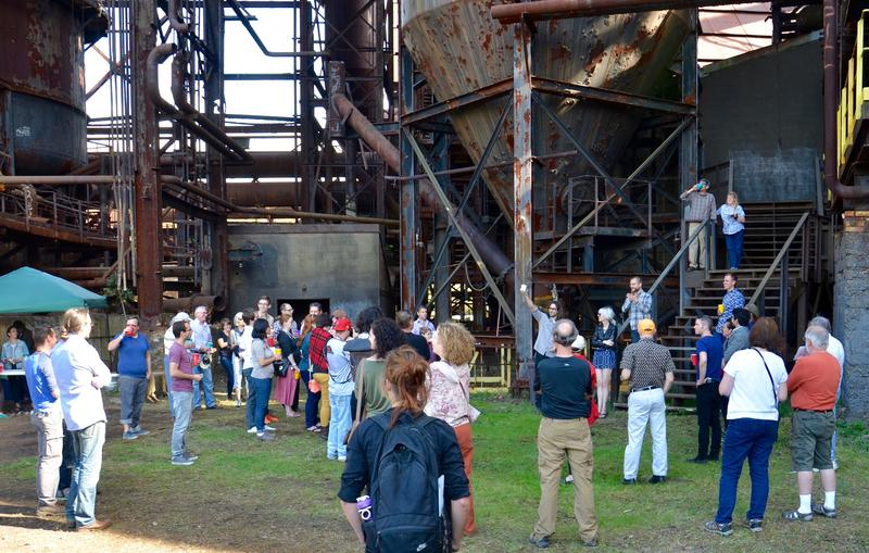 The previous Alloy Pittsburgh at the Carrie Furnaces was in 2015.