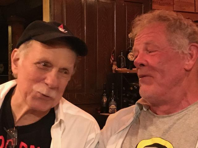 Jimmy Cvetic (left) and his friend Nick Nolte most recently got together for a private gathering at Engine House 25, in Lawrenceville.