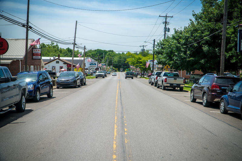 Jamestown, population 617, has a small main street with kayak rental shops and restaurants catering to visitors to nearby Pymatuning State Park. Besides tourism and a paint mill, CSI is one of the area's major employers.