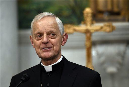 Cardinal Donald Wuerl, archbishop of Washington and former bishop of Pittsburgh, speaks during a news conference at the Cathedral of St. Matthew the Apostle in Washington, Tuesday, June 30, 2015.