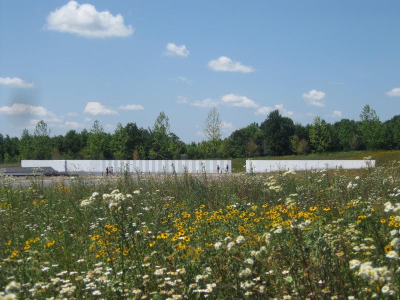 Pictured is the wildflower meadow at the Flight 93 Memorial in Shanksville, Pa. It's one of the public lands in Pennsylvania that receives funding from the Land and Water Conservation Fund.