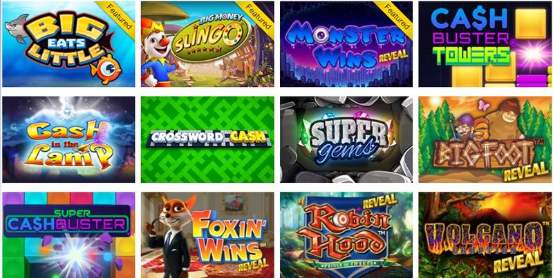 Featured iLottery games from the Pennsylvania Lottery.