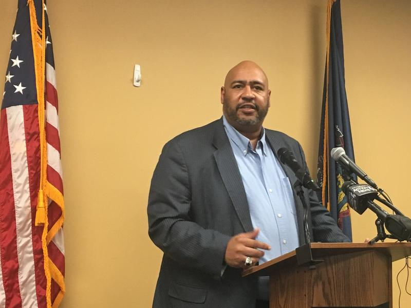 Pennsylvania Corrections Secretary John Wetzel spoke at the Goodwill Workforce Development Center in Lawrenceville Thurs., Aug. 30, 2018.