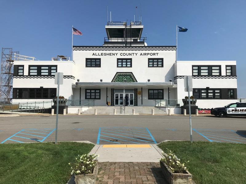 The board of the Allegheny County Airport Authority held its September meeting at the Allegheny County Airport in West Mifflin. Once the region's only airport, it now serves private planes.