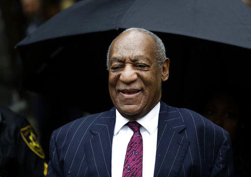 Bill Cosby arrives for his sentencing hearing at the Montgomery County Courthouse, Tuesday, Sept. 25, 2018, in Norristown, Pa.