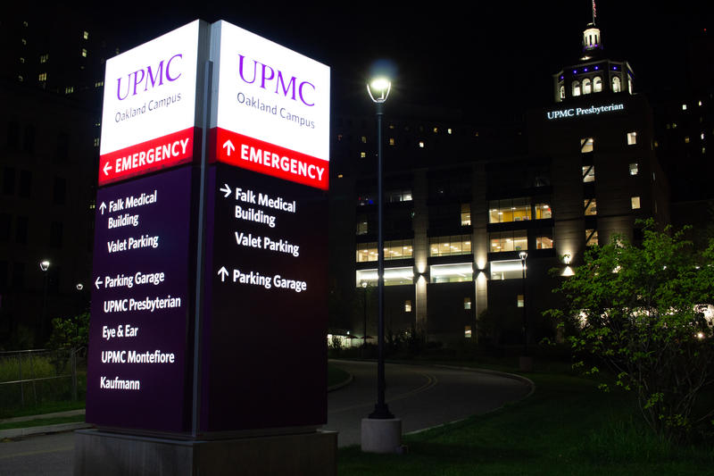 "UPMC Presbyterian Hospital sits halfway up a steep hill in Pittsburgh's Oakland neighborhood. Its emergency room bustles during the day, with medical residents, attending physicians  and nurses. But at night, ""it's a different feel,"" said Dr. Tom Martin."