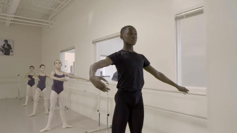 """A still from the film """"Danseur,"""" produced by Scott Gormley of Pittsburgh."""
