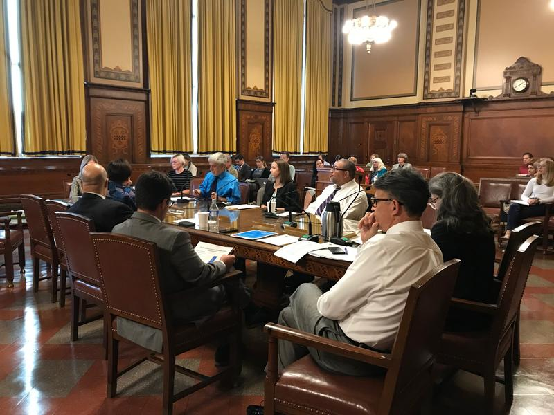 Pittsburgh City Council held an informational session on water privatization in chambers on Thursday, Sept. 27, 2018.