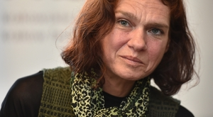 Asli Erdogan speaks Saturday at Alphabet City