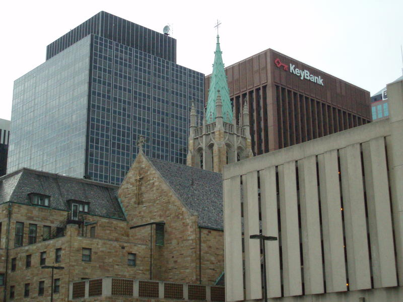 The Cathedral of St. John the Evangelist, a historic Roman Catholic church located in downtown Cleveland, Ohio, and part of the multiple dioceses who say they're going to release a list of abusive priests.