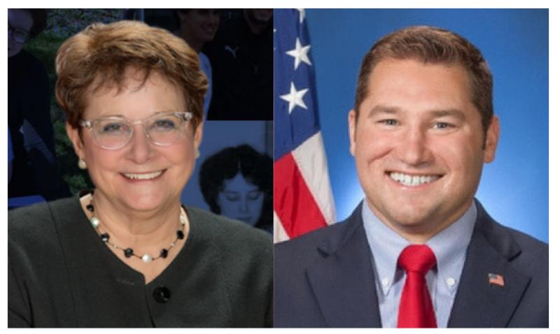 Congressional candidates Bibiana Boerio and Guy Reschenthaler
