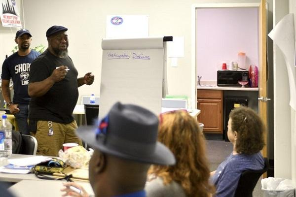 Steve Austin, a facilitator of Philadelphia's participatory defense program, talks about tapping the resources of the community that know defendants.