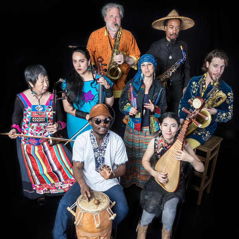 "The Afro Yaqui Music Collective will perform ""Mirror Butterfly"" at the New Hazlett Theater."