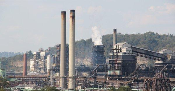 U.S. Steel's Clairton Coke Works, near Pittsburgh, Pa., is Allegheny County's largest source or particulate pollution.