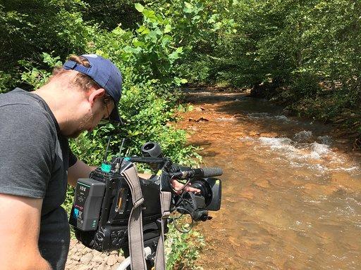 "Glenn Syska, director of photography and editor of ""Downstream."""