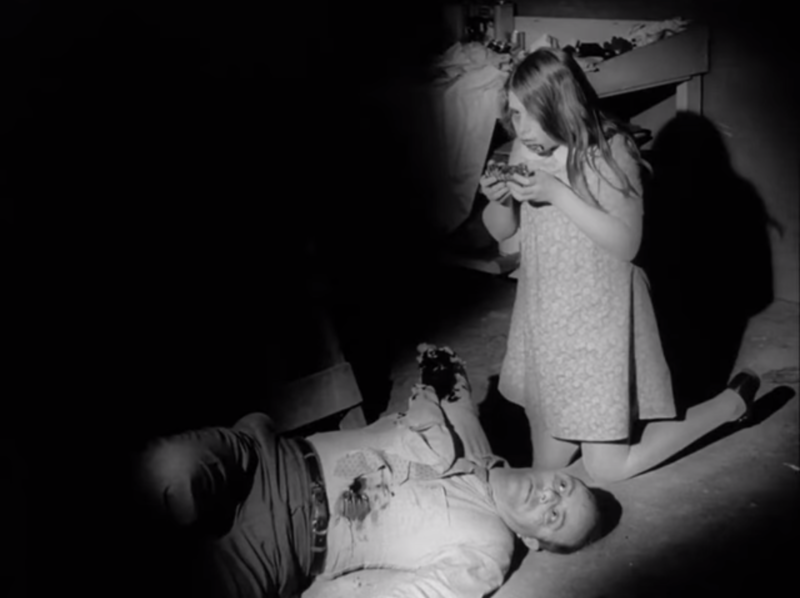 A screenshot of the 1968 horror thriller Night of the Living Dead, which was shot in and around the Pittsburgh region.
