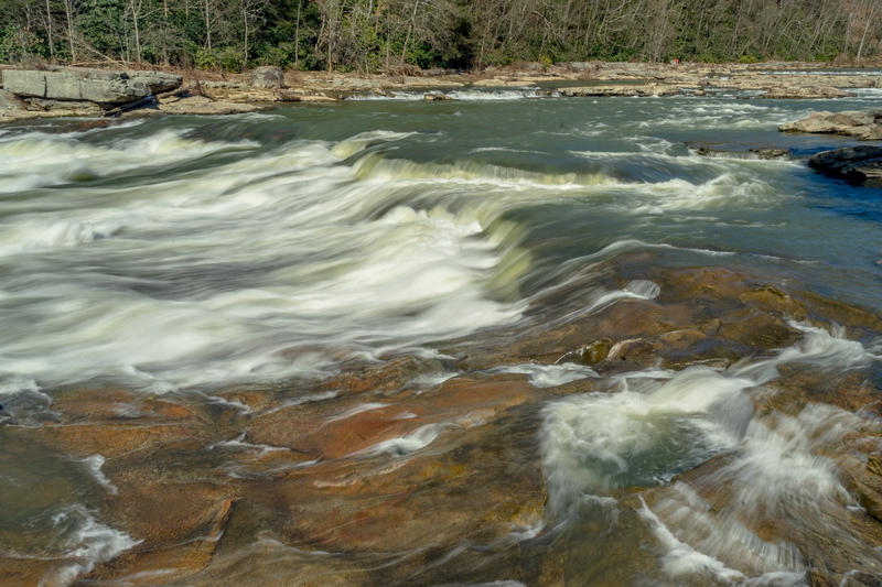 The Youghiogheny River at Ohiopyle State Park.