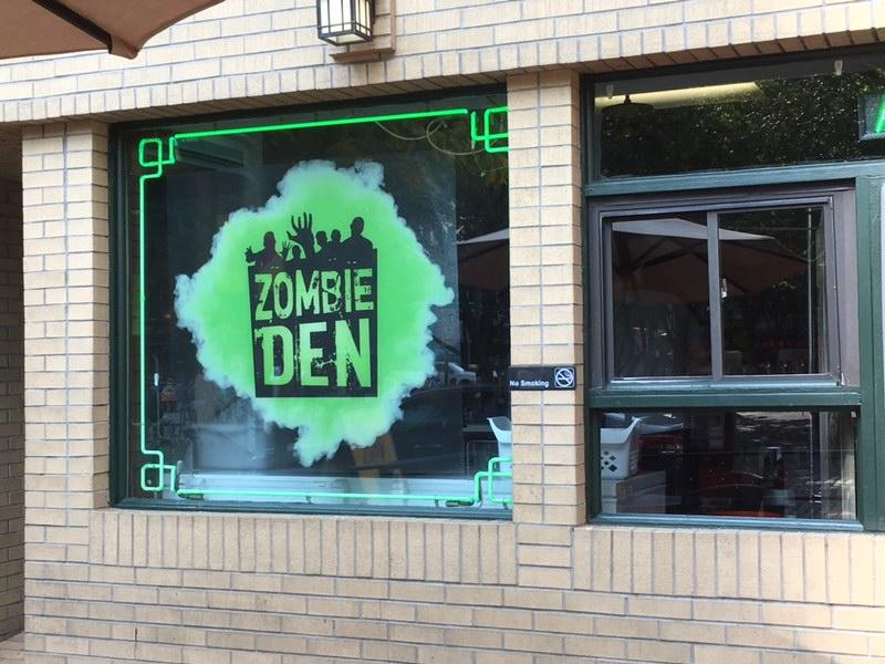 Part of the Original Oyster House in Pittsburgh's Market Square will be dressed up as a spooky, zombie-themed bar for the month of October.