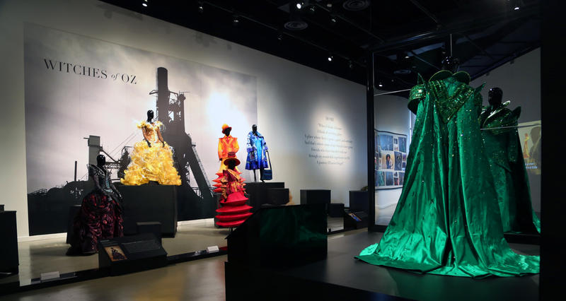 "Costumes from ""The Wiz Live! will be on display through Nov. 30, 2016, at the August Wilson Center in Downtown Pittsburgh."