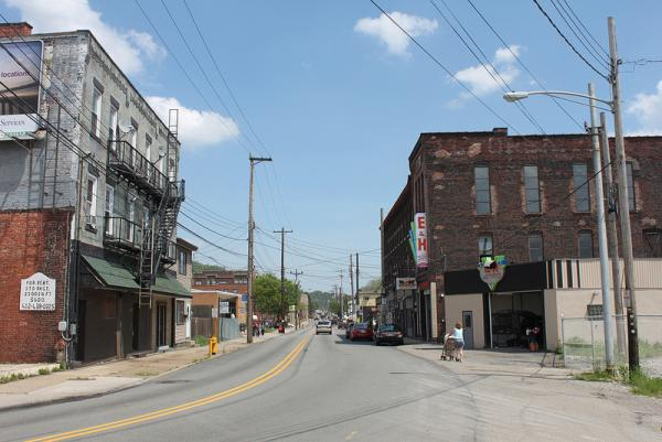 Sharpsburg main street, like several others, has suffered from years of decline