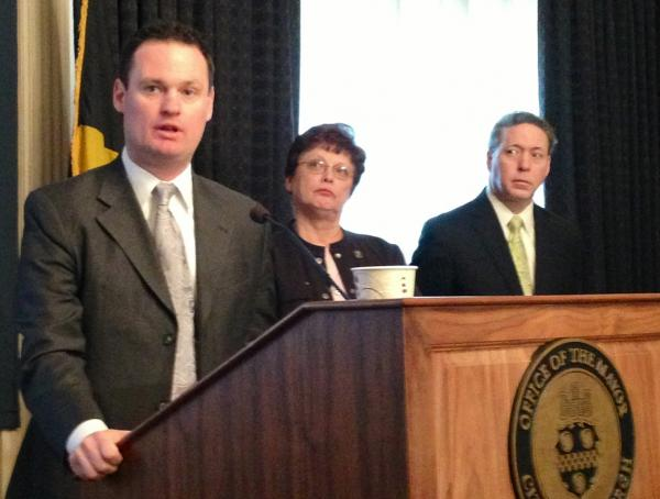 Pittsburgh Mayor Luke Ravenstahl