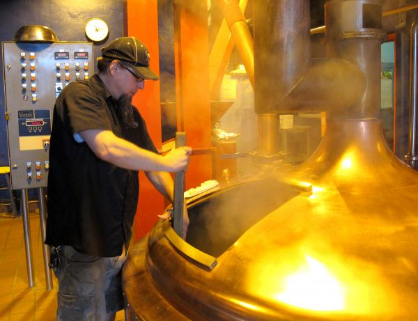 Brewer Steve Crist works at Penn Brewery, which plays a large role in Pittsburgh Craft Beer Week. The craft beer movement has exploded nationwide, and there are now upwards of 14 craft breweries in the region, along with some other smaller brew operations.
