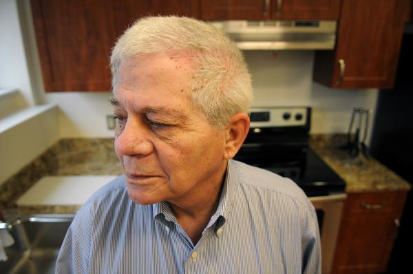 Ron Dambrosia, 68, of East McKeesport, was in the Army for 11 years. Dambrosia developed a subdural hematoma, or a brain lesion, a few months ago and underwent surgery twice. While at MyHome, he worked with therapists to practice daily living tasks like making coffee.