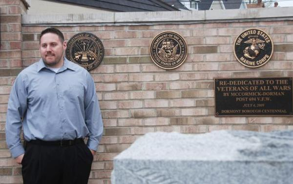 Dan Blevins, 29, of Carnegie is one of more than 10,000 veterans in Pennsylvania who has been waiting more than a year for the U.S. Department of Veterans Affairs to rule on disability claims.