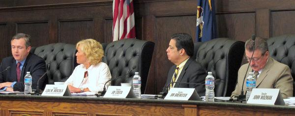 The state Senate Democratic Policy Committee held a hearing on changes to voting procedures and voter registration.