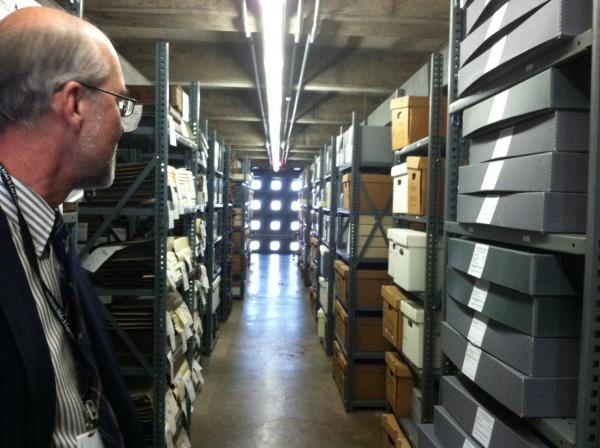 """If we decide if something doesn't have value and destroy it or don't take it, then it's gone forever,"" said State Archives Director David Haury. ""This is a serious responsibility."""