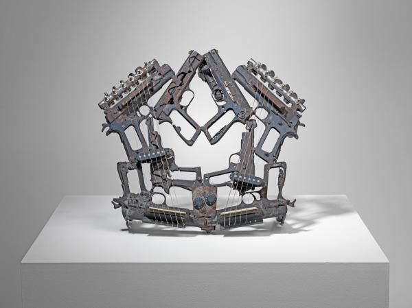A piece from Pedro Reyes' Disarm, which will be part of the 2013 Carnegie International