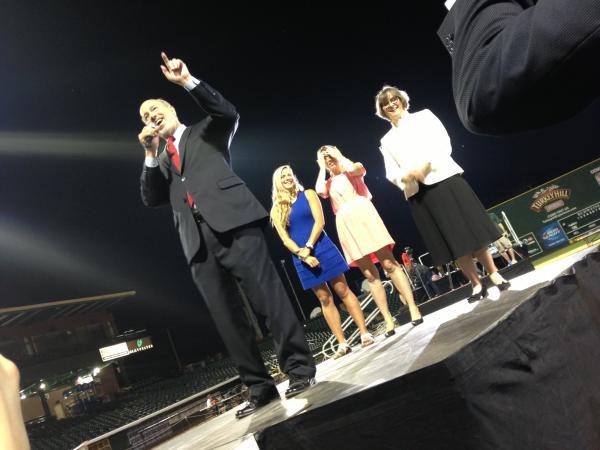 Pennsylvania Democrats have chosen millionaire businessman Tom Wolf to take on Republican Gov. Tom Corbett in the fall.