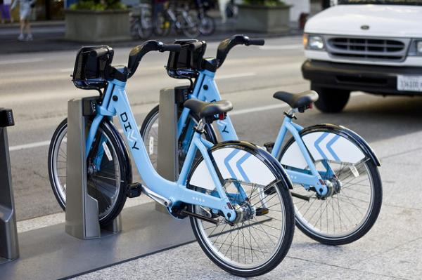 Chicago's bike sharing program launched in June 2013.