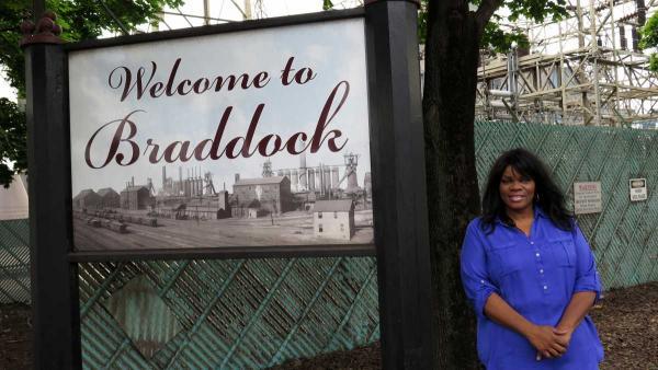 Braddock Borough Council President Tina Doose.