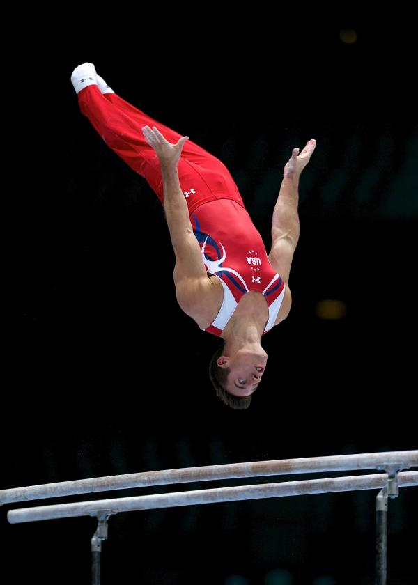 Sam Mikulak is the reigning men's national champion. He'll compete to defend his title this month in Pittsburgh.