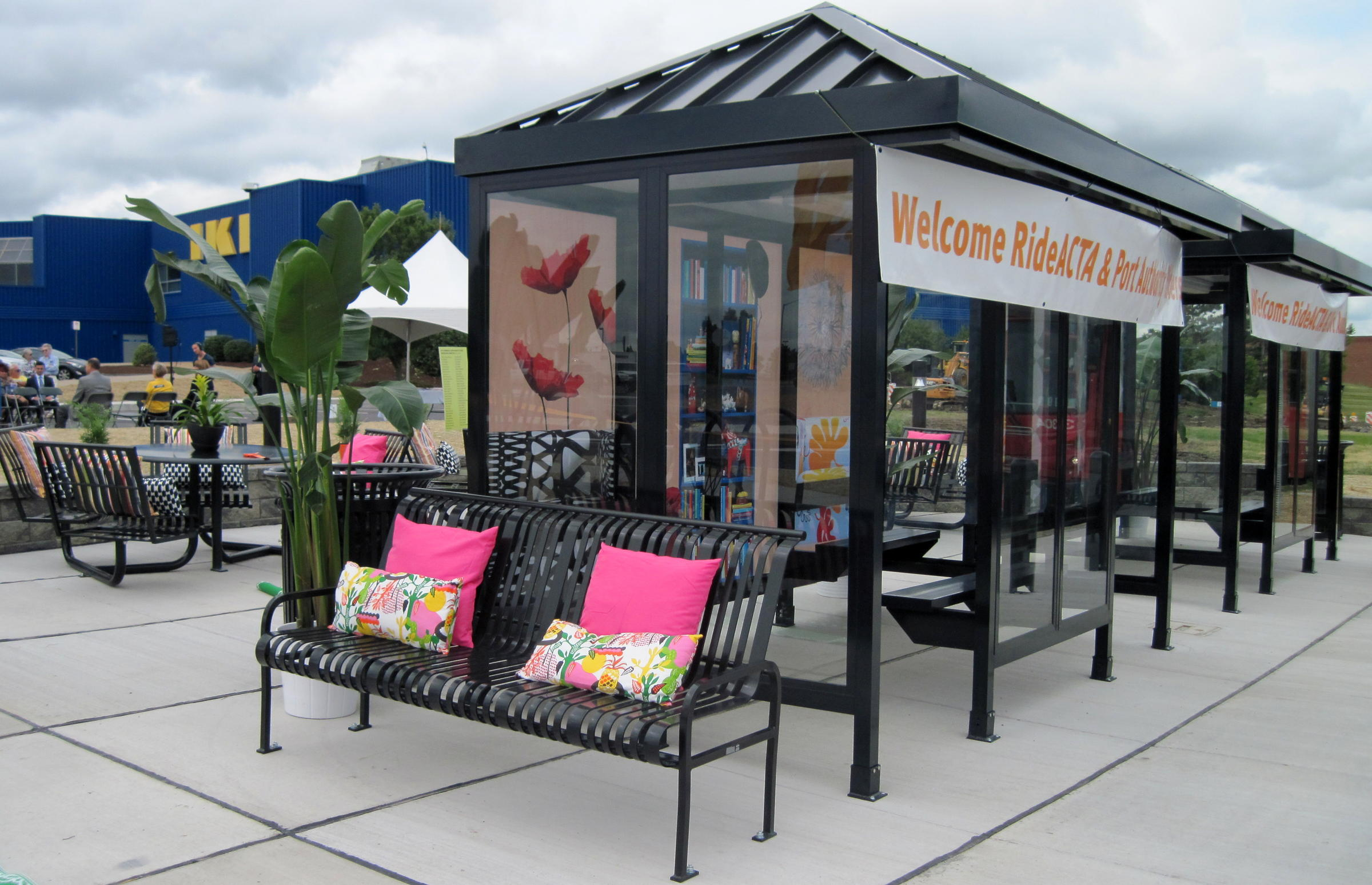 No Average Bus Shelter New Super Stop Opens In Robinson